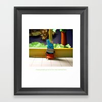 Coping Mechanisms: Two Framed Art Print