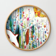 where ever you are Wall Clock