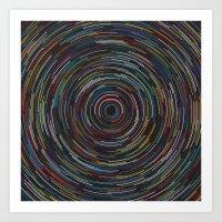Star lapse Art Print