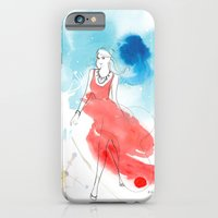 Christmas Girl In The Sn… iPhone 6 Slim Case