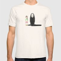 Spirited Away Mens Fitted Tee Natural SMALL