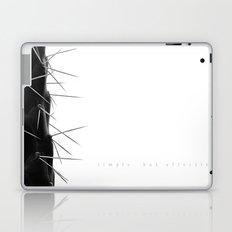 Simple - but effective. Laptop & iPad Skin