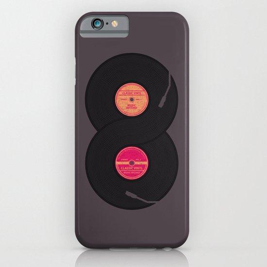 infinity vinyl records iPhone & iPod Case