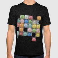 Balloons Mens Fitted Tee Tri-Black SMALL