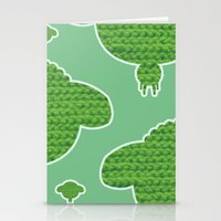 Wooly Sheep - 2 Stationery Cards