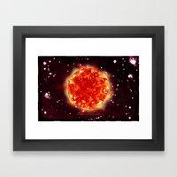 SUN - 054 Framed Art Print
