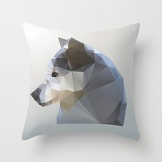 GEO - WINTER FOX Throw Pillow