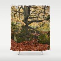 Autumnal Woodland. Padle… Shower Curtain