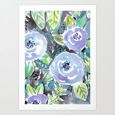 Gardens of Montclair Art Print