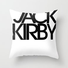 Classic : Jack Kirby Throw Pillow