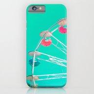 Minty Ferris Wheel Of Ha… iPhone 6 Slim Case