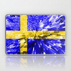 Sweden Flag - Extrude Laptop & iPad Skin