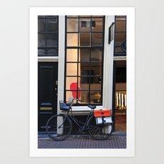 Quintessentially Amsterdam Art Print