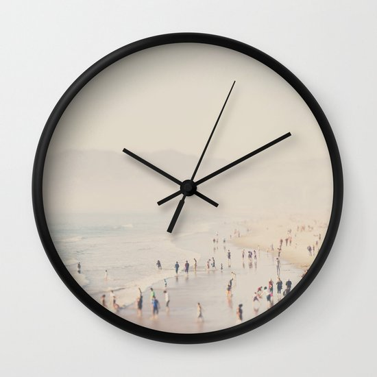 standing on the edge of the world ...  Wall Clock