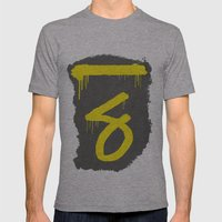 No. 7. Dead Man Mens Fitted Tee Athletic Grey SMALL