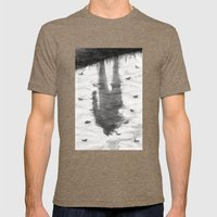 Oyster Catchers Mens Fitted Tee Tri-Coffee SMALL