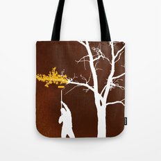Relief Painting Tote Bag