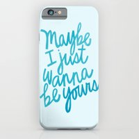 iPhone & iPod Case featuring I Wanna Be Yours by Raphaella Martelino