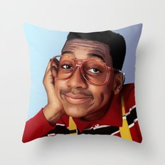 Steve Urkel Throw Pillow