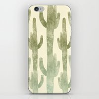 Giant Cactus iPhone & iPod Skin