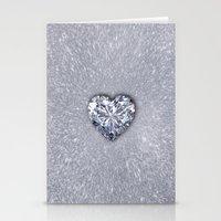 Diamond Love Stationery Cards