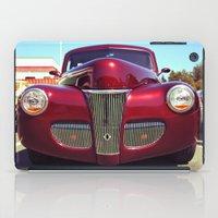 Burgundy beauty iPad Case