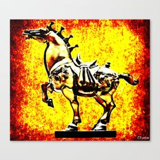 Grindhouse Warhorse  Canvas Print