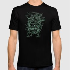 Chateau Ambulant SMALL Black Mens Fitted Tee