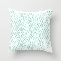 Ah-maze-ing Throw Pillow