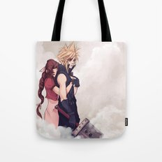 Cloud and Aerith Tote Bag