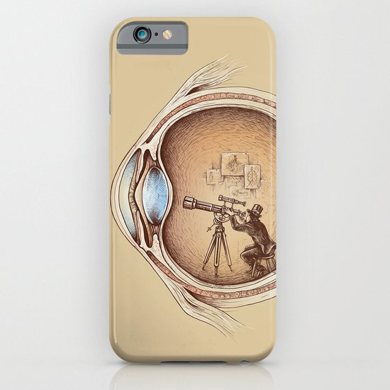 Extraordinary Observer iPhone & iPod Case