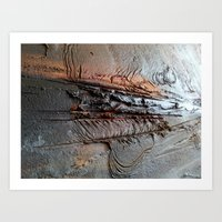 Abstract Structure Art Print