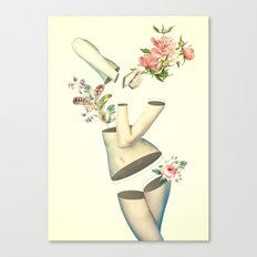 Think Too Much Canvas Print