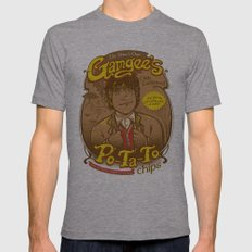 What's Taters Precious? Lord of the Rings Samwise Gamgee Mens Fitted Tee Athletic Grey SMALL