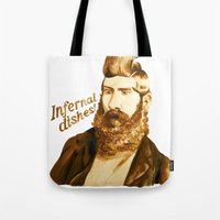 Infernal dishes Tote Bag