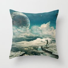 The explorer Throw Pillow