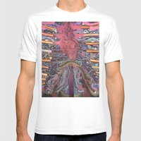 The Enigma Of Maria Mens Fitted Tee White SMALL