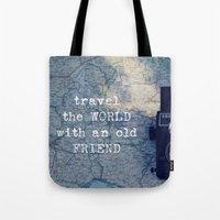 Travel The World With An… Tote Bag