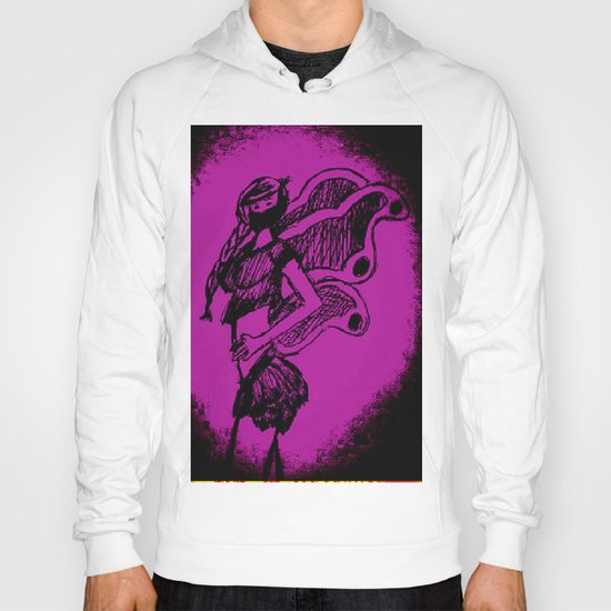 """Women with no faces--series """"Fairy Hoody"""