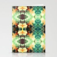 Kaleidoscopic Pattern Pl… Stationery Cards