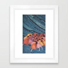 L' Framed Art Print