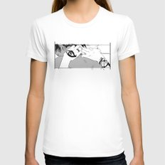 Embrace Womens Fitted Tee White SMALL