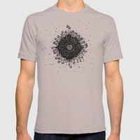 Mandala Mens Fitted Tee Cinder SMALL