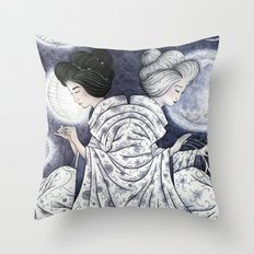 Duality Discovered Throw Pillow