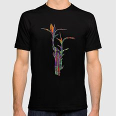 Colored Bamboo 2 Mens Fitted Tee Black SMALL