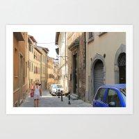 Italian Street 2 Art Print