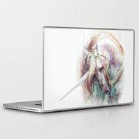 unicorn Laptop & iPad Skins featuring Unicorn by beart24