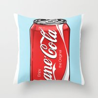 Bane Cola Throw Pillow