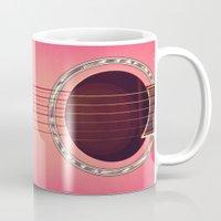 Pink Guitar Mug