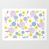 Summer Buzz Art Print